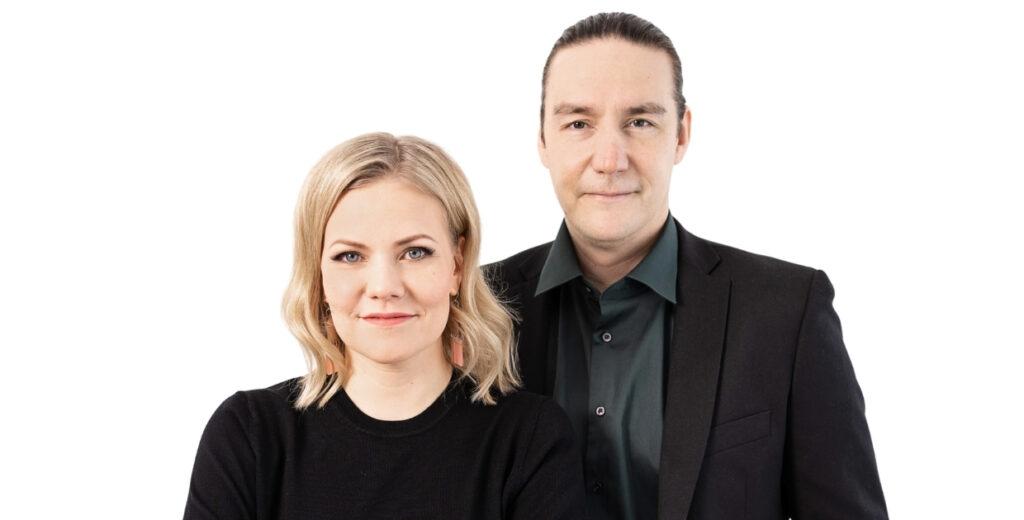 Jenni Aikio ja Erkka Koskinen